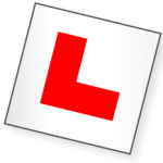 learner Driver L Plate - AMF Driving Lessons - Learn to Drive With AMF Congleton